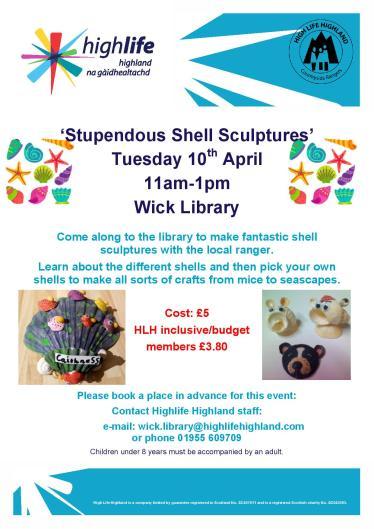 Highlife Highland Easter Activity - Shells