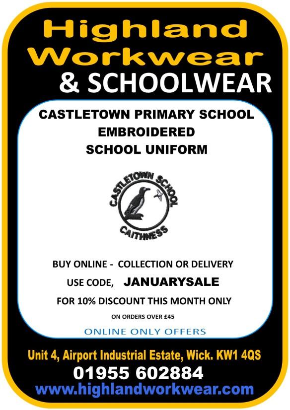 castletown school uniform
