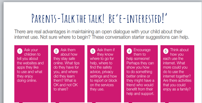 Conversation Starters from Chromebook Presentation